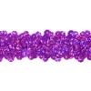 Sequin Stretch 3-row Hologram purple